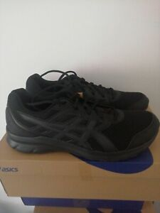 UK 12 Asics Jolt 3 Black/Graphite Grey Road Running Shoes EU 48 US 13