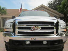Ford CHROME Grille CONVERSION Fits 1999-2004 Super Duty 05 06 07 F250 F350