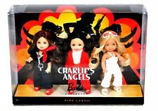BARBIE PINK LABEL DA COLLEZIONE CHARLIE'S ANGELS BAMBOLE Set Regalo