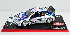 Citroen Xsara WRC Rallye Monte-Carlo 2007 #5 scale 1:43