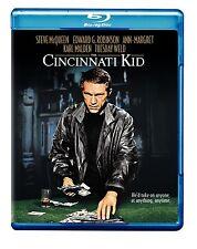 THE CINCINNATI KID (1965 Steve McQueen) -  Blu Ray - Sealed Region free