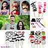 DIY Photo Booth Props Lips Sticker Mustache For Wedding Birthday Party Christmas