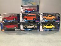 "1:24 Maisto Special Edition LOT: Porsche Mercedes Chevrolet Ford ""YOU CHOOSE"""
