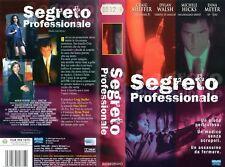 Segeto Professionale (2003) VHS Eagle Craig Sheffer Dina Meyer Fiona Mackenzie