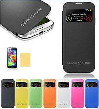 FLIP COVER S-VIEW  Custodia slim Case per Samsung Galaxy S4 MINI piu pellicola