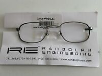 USA Pilotenbrille Randolph Engineering 48-145mm R387Y99-G Pewter Frame 350