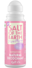 SALT OF THE EARTH NATURAL DEODORANT ROLL-ON LAVENDER & VANILLA 75ml