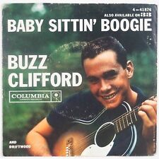 BUZZ CLIFFORD: Baby Sittin' Boogie ROCKABILLY 45 w/ PS Rare COLUMBIA Hear