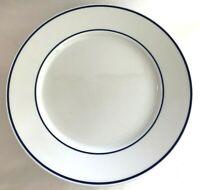 "Danica Poland Bistro Porcelain Dinner Plate 10.5"" Diameter"