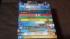 Childrens Family DVD LOT 0F 15 SNOOPY GARFIELD BATMAN GARFIELD Tom & Jerry ect