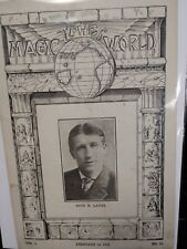 Otto H. Lavsa Issue 1919 The Magic World Periodical