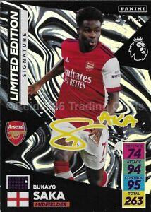 "Adrenalyn XL - Premier League 2021 - 22: Bukayo Saka ""Signature"" Limited Edition"