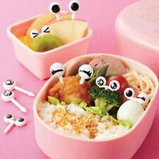 10Pcs/Set Cartoon Lovely Bento Decorative Cute Fruit Forks Eye Shape Essen Picks
