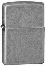 "Zippo Armor Lighter ""Antique Silver Plate"" No 28973 - New"