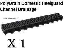 PolyDrainl Heelguard 1 X 1 Meter Storm Channel Driveway Garden Garage Rain Water