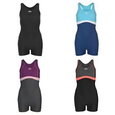 Ladies Slazenger Boyleg Swimming Costume Swimsuit Swimmers~8 10 12 14 16 1820 22