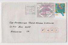 Stamp Australia 5c Emu Frama cliche A96 uprating 40c Christmas on 1994 cover