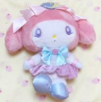 My Melody x Sailor Moon Collaboration Limited Plush Toy w/tracking Good F/S Used
