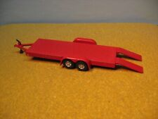 1/64 Scale Red Tag A Long Auto Carrier Trailer 2 Photos