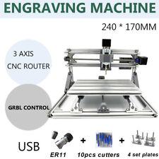 CNC Router 2417 3 Axis DIY Desktop Laser Mini Engraving Macchina Incisore Cutter