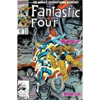 Fantastic Four (1961 series) #347 in NM minus condition. Marvel comics [*az]