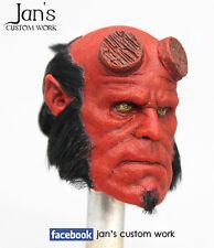 1/6 RARE Hot CUSTOM REPAINT REHAIR toys Hellboy figure head DX enterbay sideshow