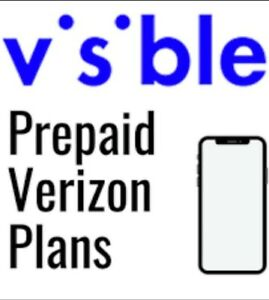Visible SIM Cards Preloaded 1Month Unlimited Data Service Included