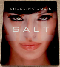 Angelin Jolie SALT Liev Schreiber STEELBOOK All Region Blu Ray
