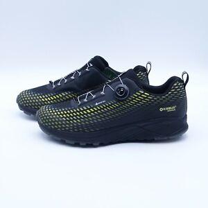 Size 12 Men's Icebug NewRun BUGrip GTX Carbide Studded Traction Running Shoes