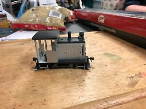 Bachmann on30 0-4-0 side rod gas mechanical loco with dcc