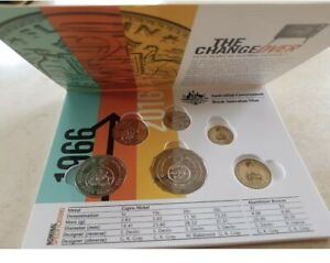 2016 50th Anniversary Changeover Folder and 4 UNC Coins from Mint Bags