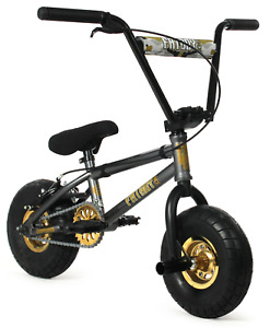 "FatBoy Pro Mini 10"" BMX Bicycle Fat Tire Freestyle Bike Gun Powder NEW"