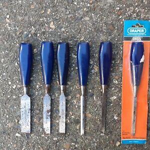Draper set of 6 wood chisels