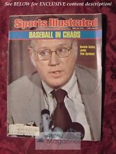 SPORTS ILLUSTRATED June 28 1976 BASEBALL BOWIE KUHN JERRY PATE E. L. DOCTOROW