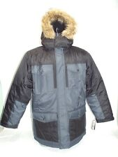 New Mens 2XL XXL RBX Systems Black Grey Winter Snow Jacket $190 OMRX028H