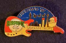 Hard Rock Cafe Pin Johannesburg Christmas Guitar w/ Scene - #269 of 1000 - 1997