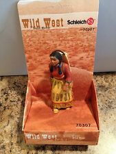 Schleich 70307 Wild West Sioux Indian Mother w Papoose Baby RARE