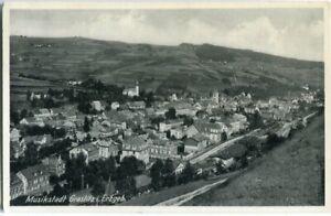 AK Musikstadt GRASLITZ /KRASLICE /Erzgebirge /Böhmen Totale 1942