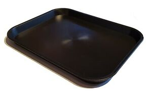 Pack of 10 KB5 Kabi Plastic Large Black Catering Trays **Factory Seconds**