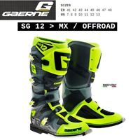 Stivali enduro cross moto GAERNE SG 12 MX OFFROAD yellow giallo 2174049