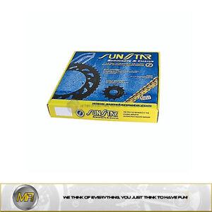 SUZUKI DL V-STROM 1000 > 2002 TO 2010 CHAIN 525 FRONT SPROCKET 17 REAR 41 TEETH