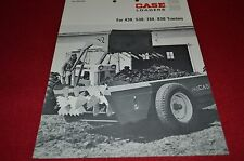 Case Tractor 295 393 Farm Loader 430 530 730 830 Tracto Dealers Brochure YABE13