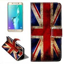 Cartera de Lujo Motivo Bolsa 9 para Samsung Galaxy S6 Edge Plus G928 F Funda