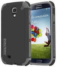 PUREGEAR DUALTEK EXTREME RUGGED CASE MATTE BLACK COVER FOR SAMSUNG GALAXY S4