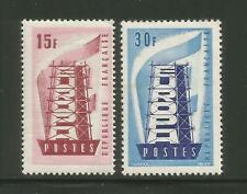 France – 1956 – Europa Issue – Scott #805-806 - Set Of 2 – Mint (2)