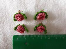 4 Häkelblume  Häkelblumen gehäkelt