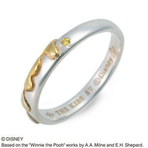 THE KISS Ring No.19 Silver Cubic Disney collection Winnie the Pooh Women's Men's