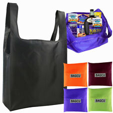 Large Foldable Eco Handbag Reusable Bag Shopping Tote Nylon Shoulder Bags Pouch