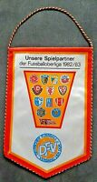 Orig. DDR Oberliga Wimpel 1982/83 Vorwärts Frankfurt/O Gegner FCM BFC Hansa HFC