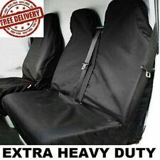 HEAVY DUTY WATERPROOF BLACK VAN SEAT COVERS 2+1 FOR FORD TRANSIT MK6 MK7 MK8